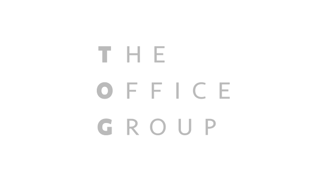Logo the office group grey